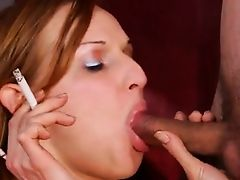 Smoking Schoolgirl & BJ