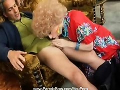 Mrs. Roper Gives a Blowjob