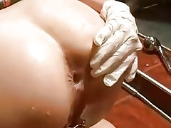 Hot Bathroom Enema Play
