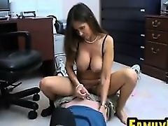 Naughty Busty Mother In Law