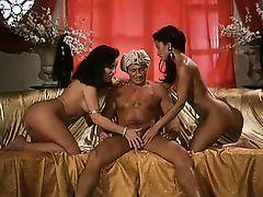 Julia Channel & Tabatha Cash - threesome scene