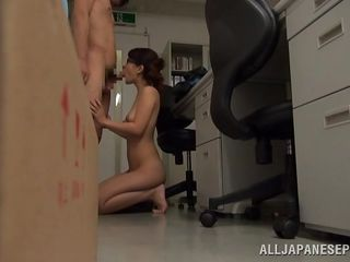 japanese slut fucking at work