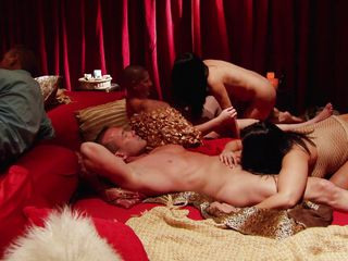 the swingers have a hot orgy