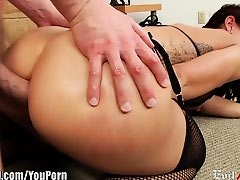 EvilAngel Mischa Brooks going Ass to Mouth