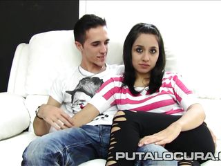 puta locura latino amateur teen couple