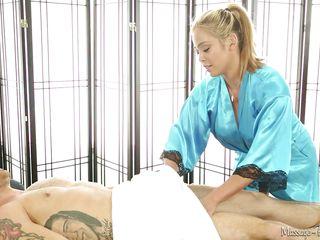 masseuse makes him so hard