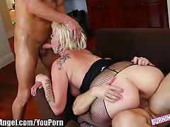 BurningAngel Double Stuffed Emo Slut