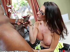 Dava Foxx's First Black Dick is a FOOT Long