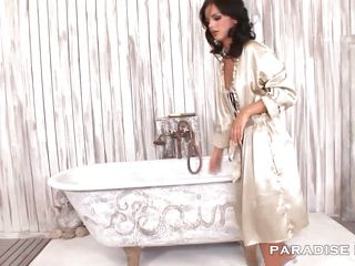 paradise films sucking the plumber dry