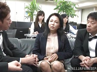 japanese slut gets horny in public