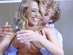 Brazzers - Kagney Linn Karter takes big dick at work