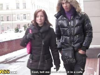 female tourist needed money to return home