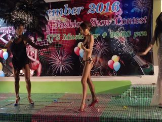 who is the sexiest ladyboy at the beauty show?