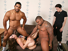 Remy LaCroix fucks BBCs - Cuckold Sessions