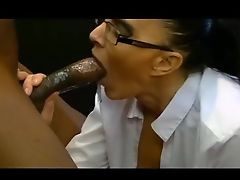 cuckold taking 9inch black cock