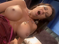 Crazy pornstar Raquel Devine in incredible mature, facial sex scene