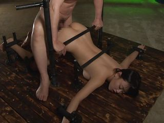 japanese beauty was bound and fucked