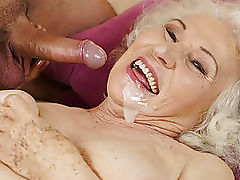 Still hot and kinky Norma wants a young dick