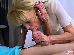AgedLovE Grandma Hardcore Fucking Exerience