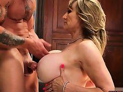 Big tits milf sex with cumshot