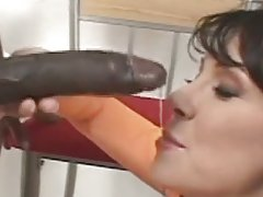 Busty milf interracial anal
