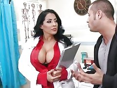 HOT & horny doctor takes a work break to ride dick