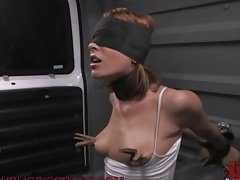 Public Humiliation With BDSM Games For A Hot Babe