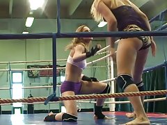 Catfight With Pussy-licking Broads
