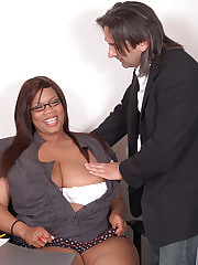 Black plumper eaten and fucked