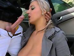 Big boobs Euro Cristal Swift public fuck