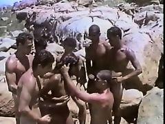 Tropical Gang Bang On The Rocks
