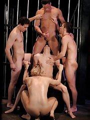 Tony Bishop::Hunter James::Cypher::Erik Rhodes::Andrew Bryant in Gay XXX Pictures