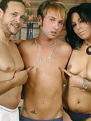 Samantha Hot Bi MMF Threesome